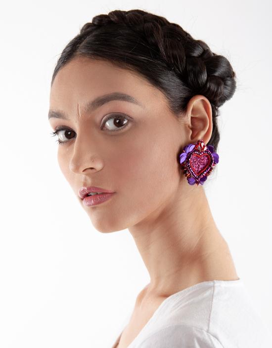 Noto Heart Earrings