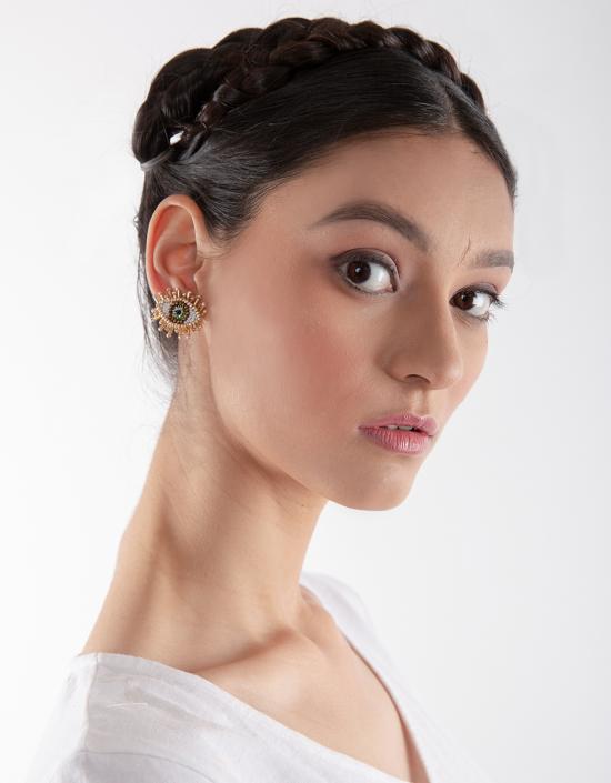 Mini Eye Earrings