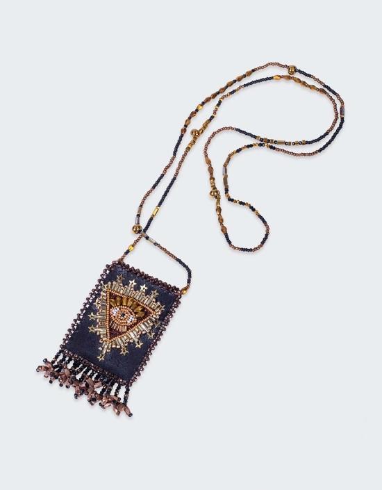 Sunburst Talisman Necklace