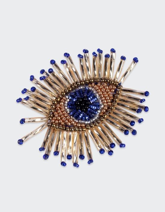 Paros Eye Brooch