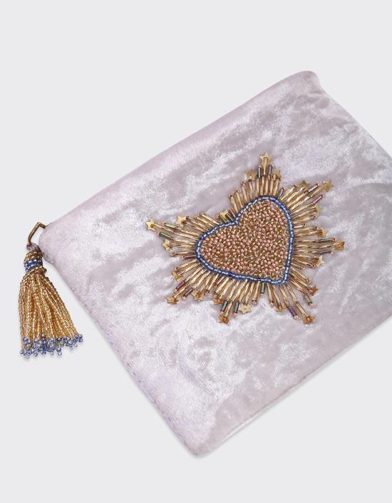 Sacred Heart Jewelry Bag