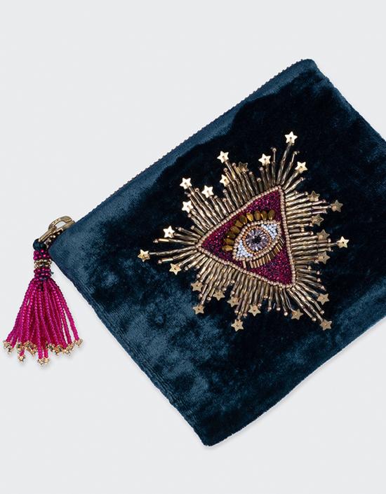 Sunburst Jewelry Bag