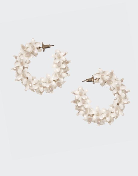 Flower Hoops Small