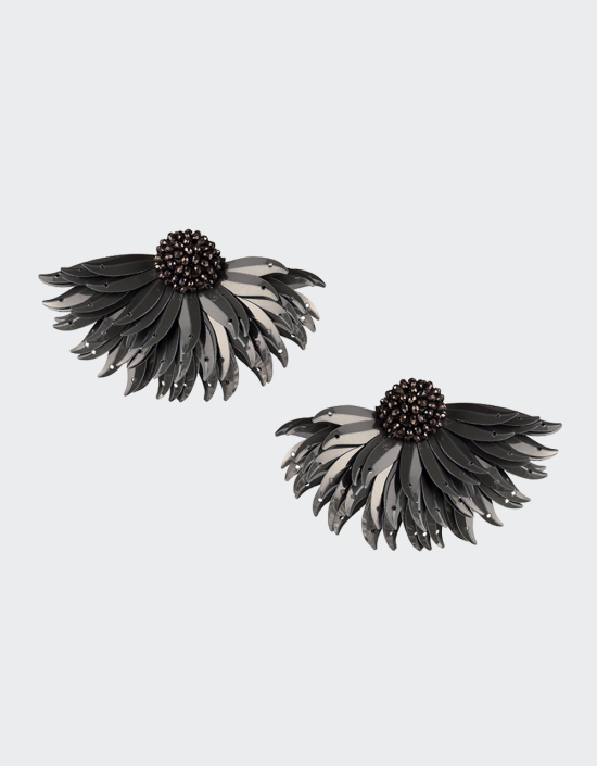 Marguerite Earrings Large