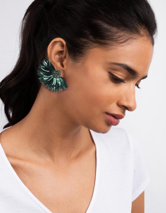 Marguerite Earrings Large