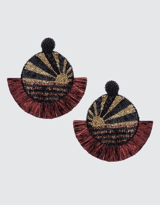Mosaic Sunset Earrings
