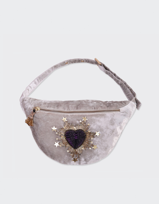 Sparkle Heart Fanny Pack