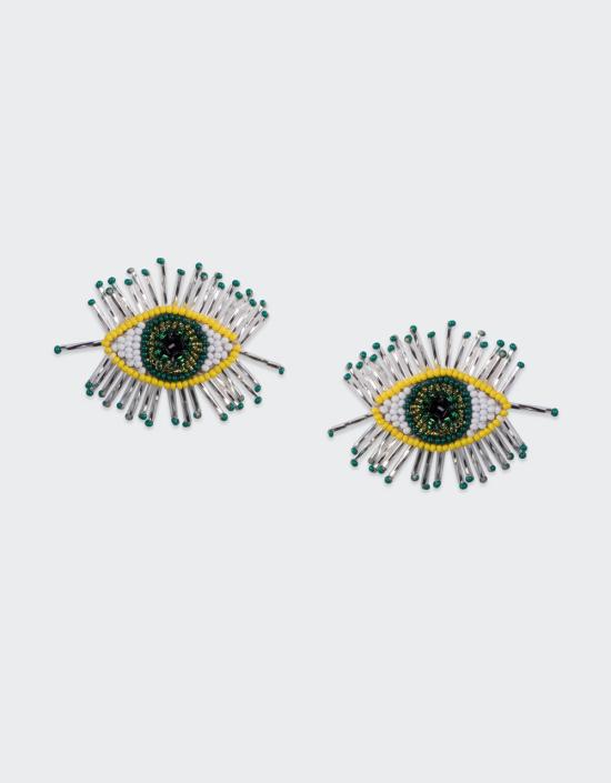 Paros Eye Earrings