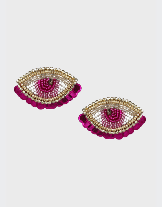 Sifnos Eye Earrings