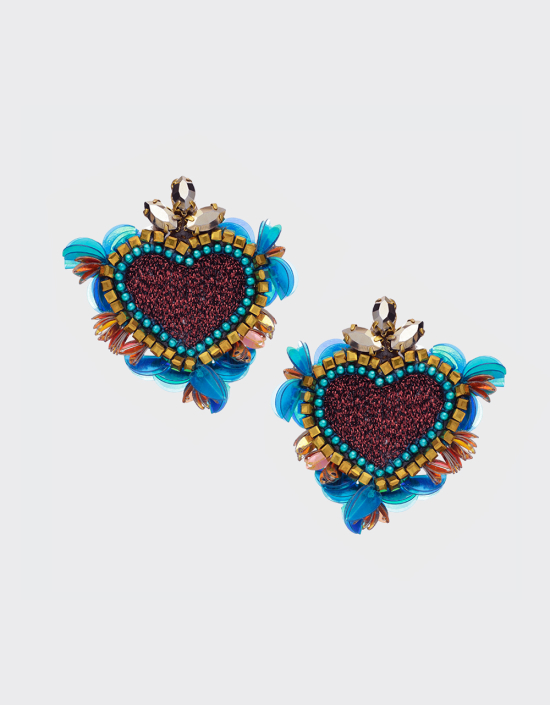 Noto Heart Earrings