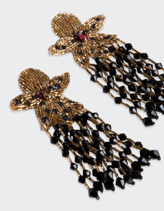 Orchid Earrings