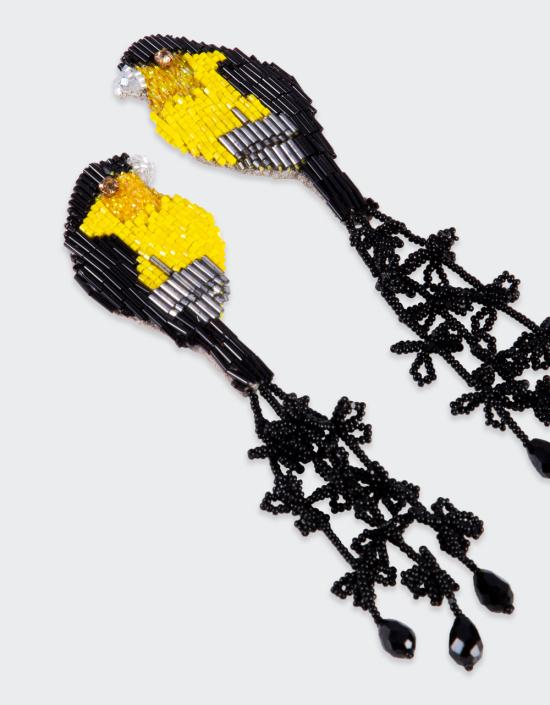 Robin Earrings With Tassels