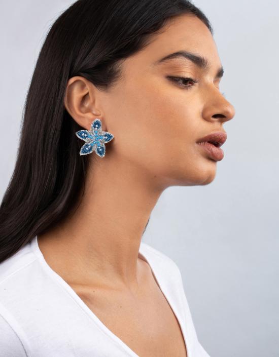 Mini Starfish Earrings