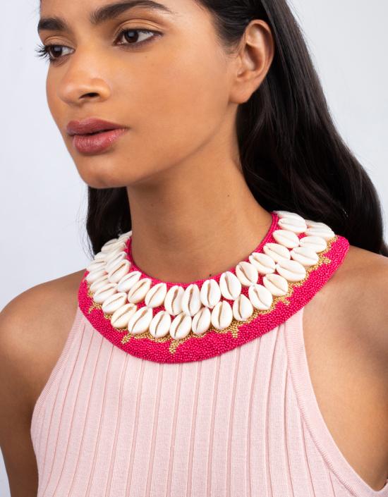 Seashell Beaded Necklace