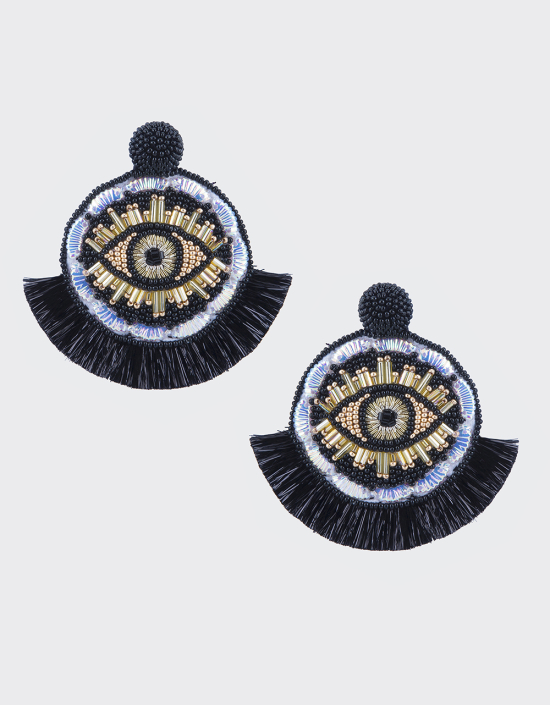 Havana Eye Earrings