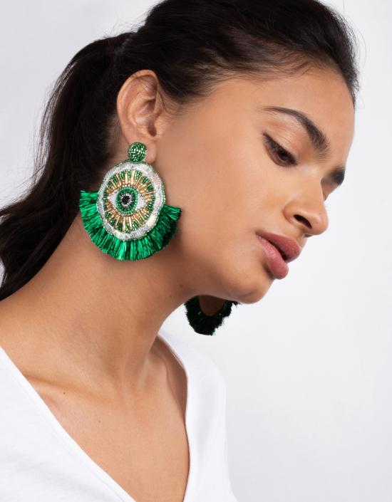 Havana Eye Earrings