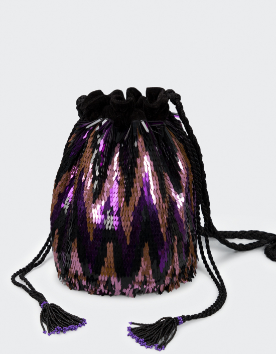 Ikat Bag Chevron