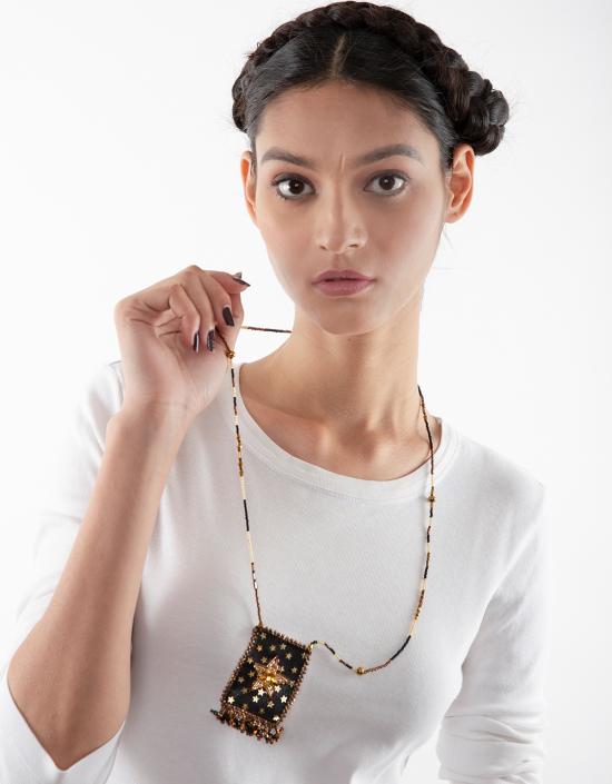 Heart Eye Talisman Necklace
