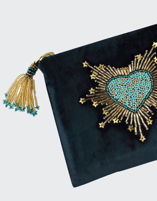 Sacred Heart Jewellery Bag