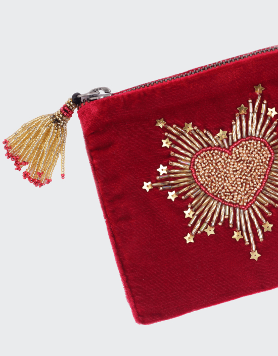 Sacred Heart Jewellery Bag