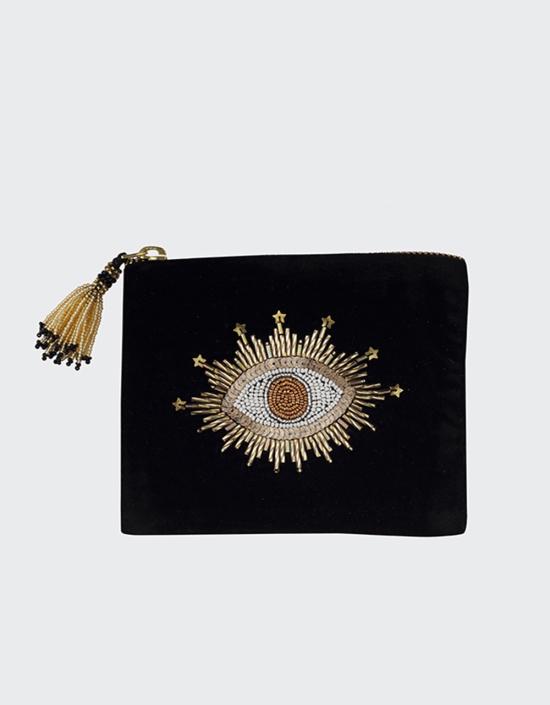 Sparkle Eye Jewelry Bag