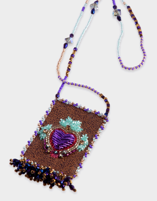 Mexican Heart Talisman Necklace
