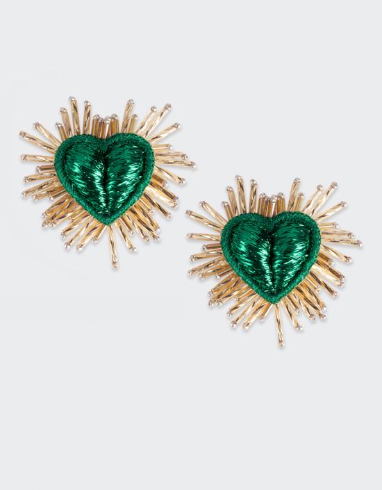 Sparkle Heart Earrings