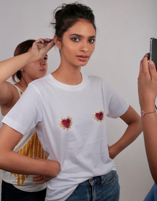 Mini Hearts T-shirt