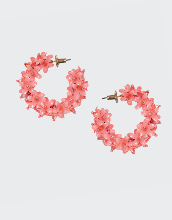 Flower Hoops Small