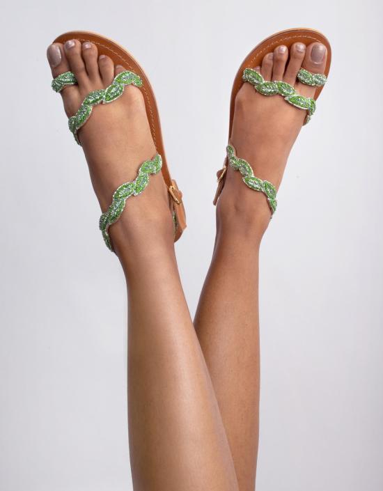 Leaf Sandals