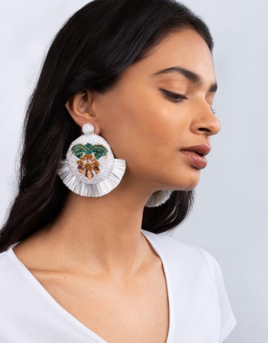 Mosaic Chardon Earrings