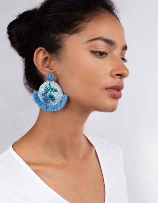 Mosaic Cherry Earrings